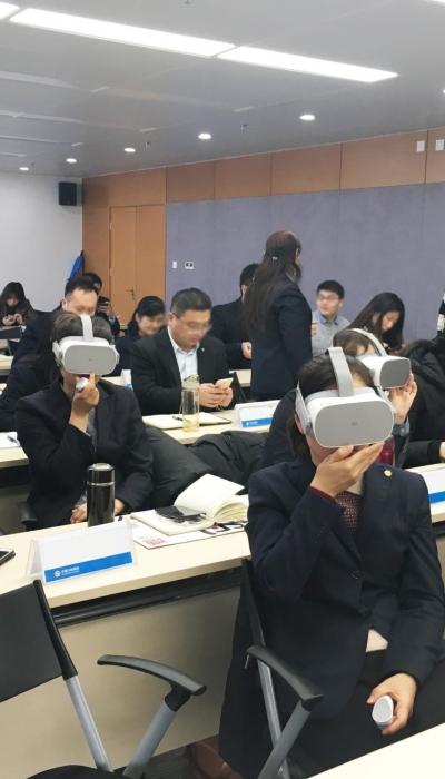AI+VR智能私教 金融行业服务提升、销售赋能